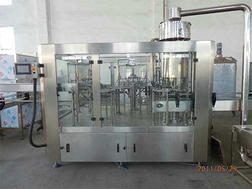 Rotary Rinsing, Filling & Capping Machine For Mineral Water Bottle 40 BPM
