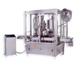 Automatic Rotary Piston Filling & Capping Machine