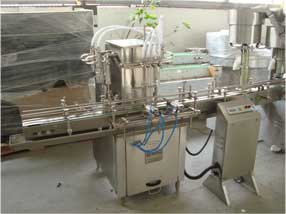 Liquid Syrup Filling Machine