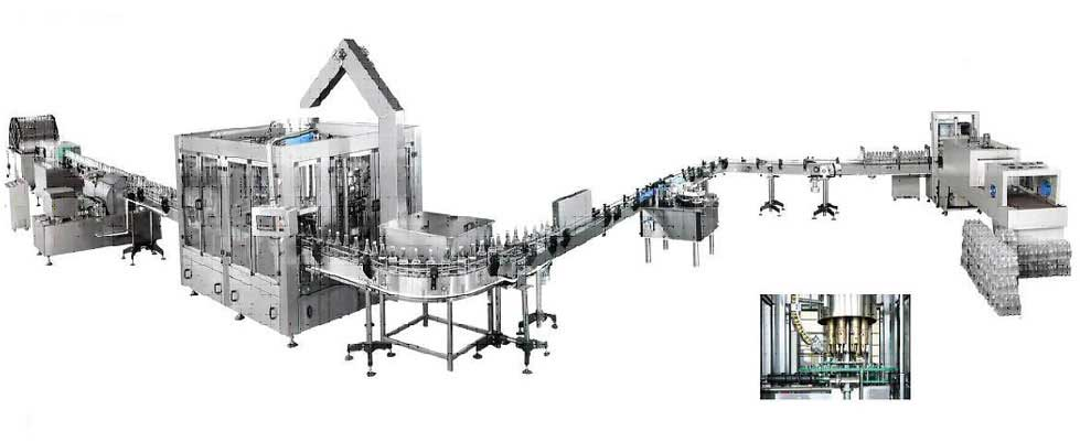 Soft Drink Pet Bottling Machine Manufacturers & Exporters from India